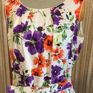 Womens size 18w Floral Dress AlexMarie